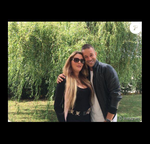 Loana et Phil Storm se retrouvent chez lui à la fin du mois de juillet 2017.
