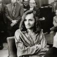 Charles Manson dans un tribunal de Santa Monica en 1970