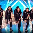 """Le groupe de danseurs All in Dance Crew dans """"Incroyable Talent"""", le 23 novembre 2017."""