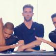 """Le groupe de danseurs Géométrie Variable dans """"Incroyable Talent"""", le 23 novembre 2017."""