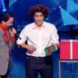 """Le magicien Moulla dans """"Incroyable Talent"""", le 23 novembre 2017."""