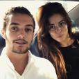 """""""Louis Sarkozy et sa chérie Natali Husic sur une photo publiée sur Instagram le 16 septembre 2017"""""""