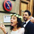Tomer Sisley a apousé Sandra de Matteis, le 25 novembre 2017 à Paris