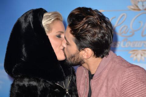 Nadège Lacroix embrasse Gabano face à la sexy Stéphanie Clerbois