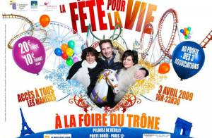 Pour Laurette Fugain : La Fête pour la vie, une soirée pleine... de sensations fortes ! Regardez !