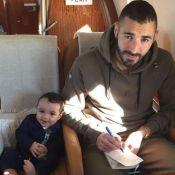 Karim Benzema papa touchant : Tendre câlin avec son fils de 6 mois