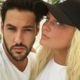 """""""Aurélie Dotremont et Gabano à Marrakech, le 22 août 2016."""""""