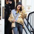 Kendall Jenner à New York, habillée d'une doudoune Ports 1961. Le 16 janvier 2017.