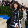Solange Knowles, habillée en Thom Browne - Met Gala 2017 à New York. Le 1er mai 2017 © Christopher Smith / Zuma Press / Bestimage