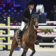 """Edwina Tops-Alexander participe à l'épreuve """"Masters One Asia Horse Week"""" au Longines Masters de Paris. Villepinte, le 30 novembre 2017. © Pierre Perusseau/Bestimage"""