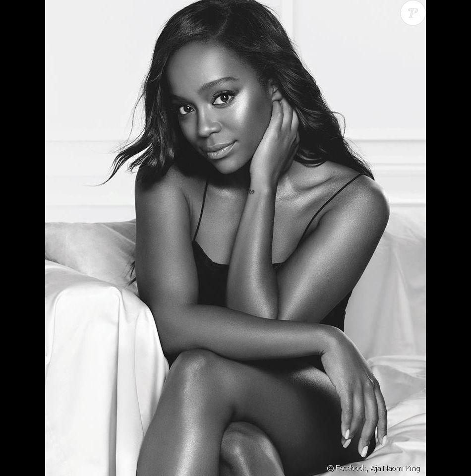 L'actrice Aja Naomi King devient ambassadrice de L'Oréal Paris. Novembre 2017.