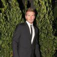 David Beckham irrésistible à la soirée Dolce & Gabbana lundi soir à Milan