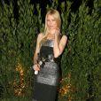 Claudia Schiffer à la soirée Dolce & Gabbana lundi à Milan