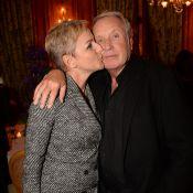 Yves Rénier et son épouse Karine : Un dîner d'exception avec Alessandra Sublet