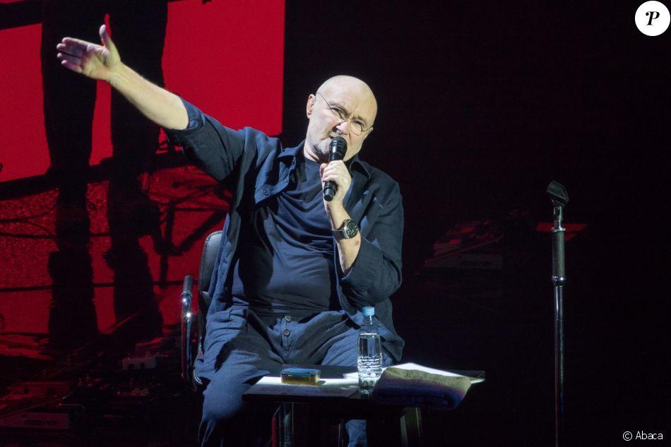 Phil Collins en concert à Londres le 22 novembre 2017
