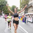 Laury Thilleman - Vingtième édition de la course La Parisienne à Paris, France, le 11 septembre 2016. © Pierre Perusseau/Bestimage