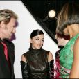 Johnny Hallyday, Jenifer Bartoli et Corinne Coman - Miss France 2006