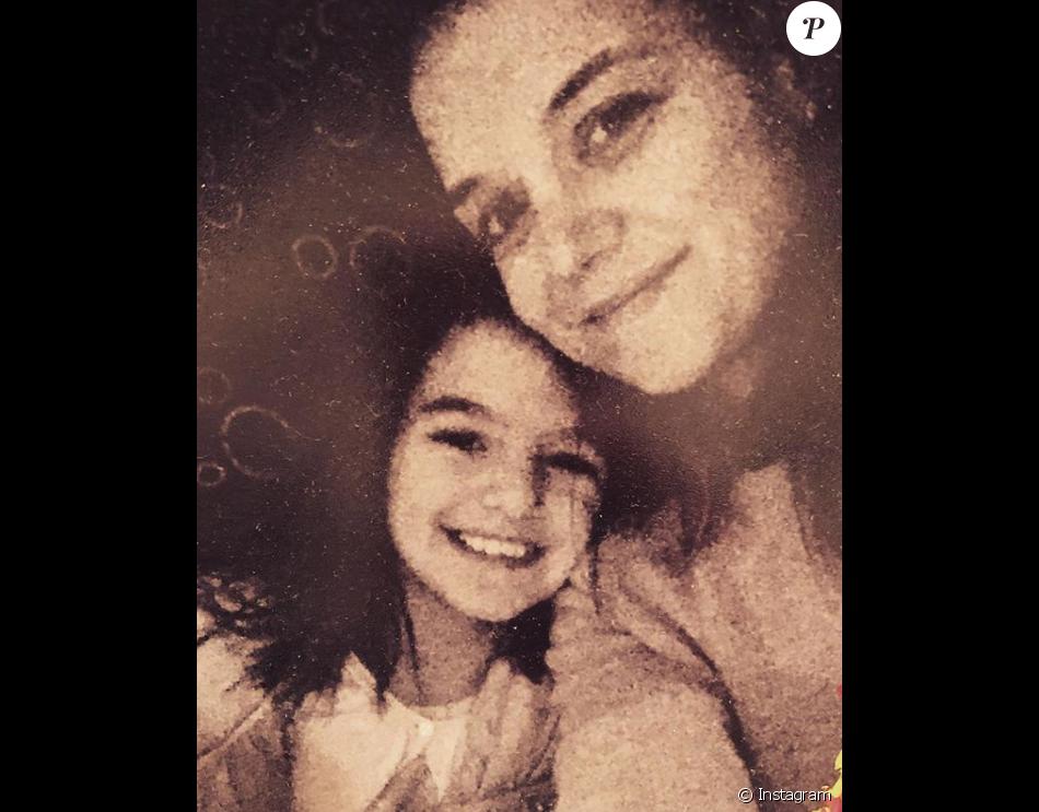 Katie Holmes et sa fille Suri sur une photo publiée sur Instagram le 28 septembre 2017