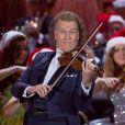 André Rieu et son orchestre enregistrent une émission de Noël à Munich, le 23 noveembre 2016.