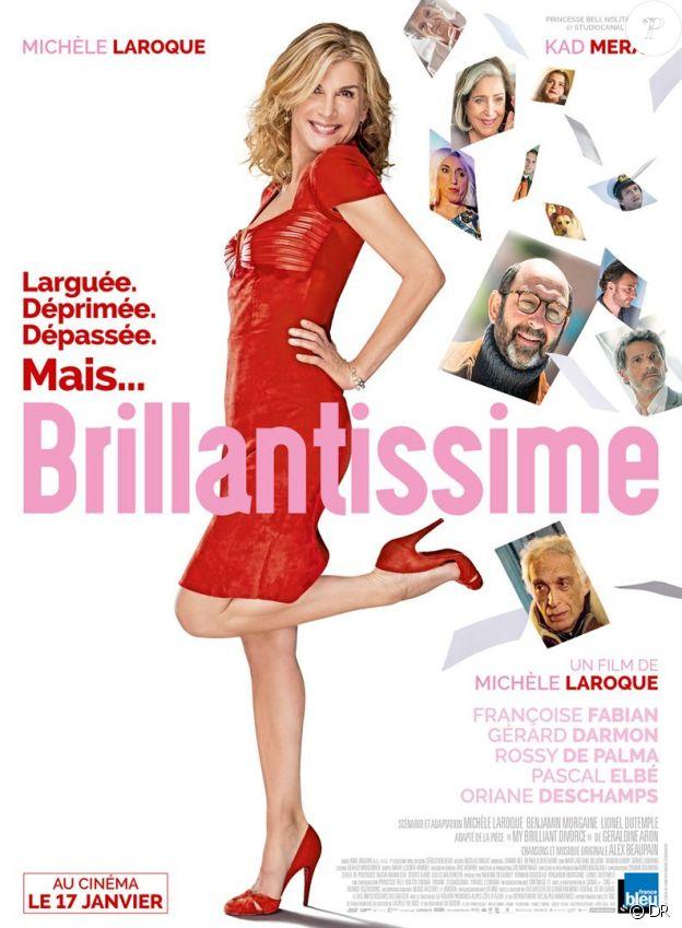 Affiche du film Brillantissime, en salles le 17 janvier 2018