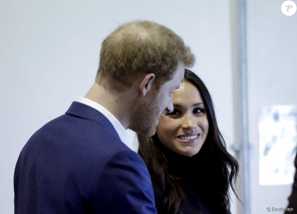 Le prince Harry et Meghan Markle à Nottingham le 1er décembre 2017.