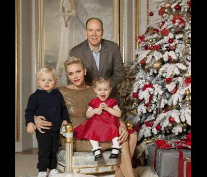Charlene de Monaco : Jacques et Gabriella superbes en habits de Noël !