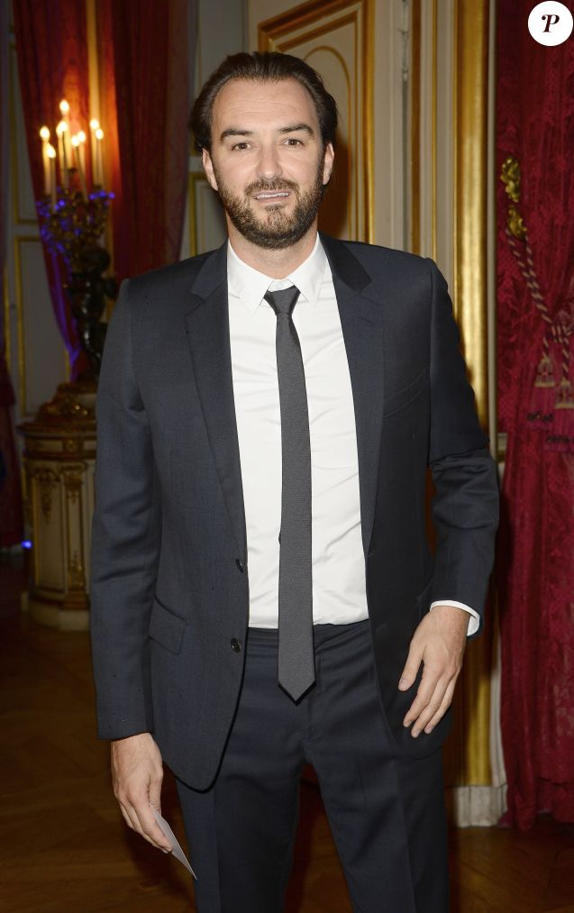 Cyril Lignac - Dîner des Grands Chefs au Quai d'Orsay à l'occasion de la désignation du vainqueur du Bocuse d'Or à Paris le 22 septembre 2015.