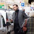 Exclusif - Cyril Lignac - Mois des produits Tripiers à Paris dans le restaurant de Christian Constant à Paris le 3 novembre 2015.