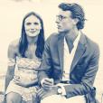 Ana Girardot pose avec son amoureux, Arthur de Villepin. (photo postée le 18 juillet 2015)