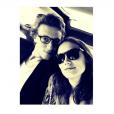 Ana Girardot pose avec son amoureux, Arthur de Villepin. (photo postée le 10 juillet 2015)