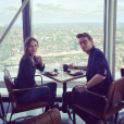 Ana Girardot et Arthur de Villepin à Londres en juin 2016.