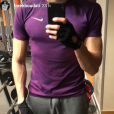 Tarek Boudali fan de sport, 3 janvier 2018, Instagram