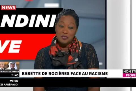 """Babette de Rozières face au racisme dans les médias : """"On m'a tabassée..."""""""