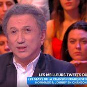 """Michel Drucker en larmes après la mort de Johnny Hallyday : """"Je n'ai pas pu..."""""""