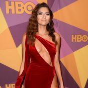"""Blanca Blanco sulfureuse en rouge aux Golden Globes: """"Blessée"""" par les critiques"""