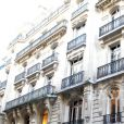 Photos de l'immeuble parisien où réside la star de Bollywood Mallika Sherawat, rue de la Faisanderie à Paris 16ème.