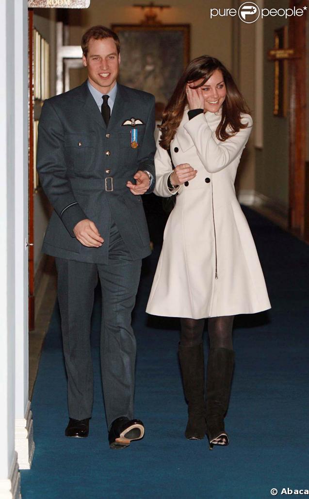 Le Prince William et sa future femme (?) Kate Middleton