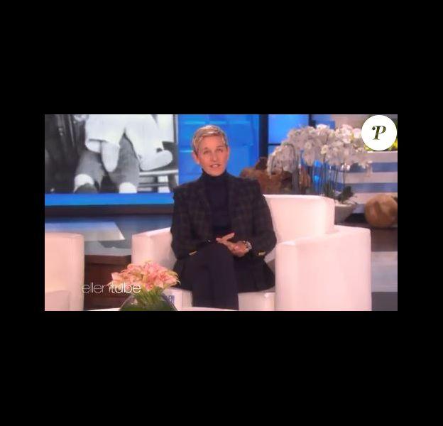 Ellen DeGeneres annonce la mort de son papa pendant son émission, le 11 janvier 2018