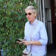 Ellen DeGeneres est allé déjeuner avec une amie au restaurant Ebaldi à Beverly Hills, le 10 novembre 2017