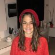 Kylie Lacoste, fille de Jean-Pascal, le 12 janvier 2019 à Saint-Jean-de-Luz.