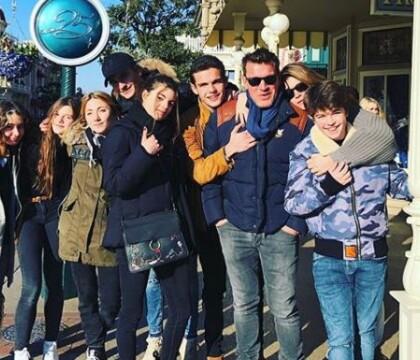 Benjamin Castaldi entouré de ses fils et sa femme à Disney : Les rares clichés