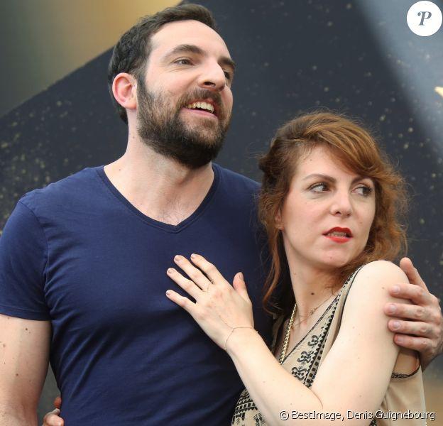 David Mora et Anne-Elisabeth Blateau - 57ème Festival de télévision de Monte-Carlo, le 17 juin 2017. © Denis Guignebourg/Bestimage