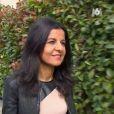 """Sabine, candidate des """"Reines du shopping"""" (M6) lors de la semaine du 8 janvier 2018."""