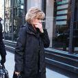 Jane Fonda se rendant aux interviews de Build Series à New York le 15 janvier 2018