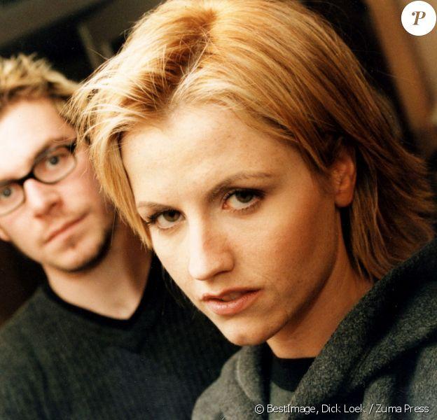 Dolores O'Riordan et Fergal Lawler du groupe The Cranberries le 14 janvier 1999 © Dick Loek / Zuma Press / Bestimage
