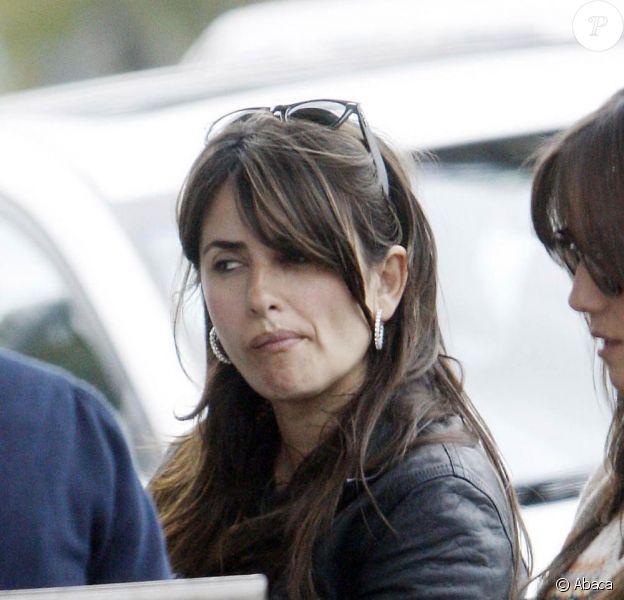 Penélope Cruz à Los Angeles. 11/03/09