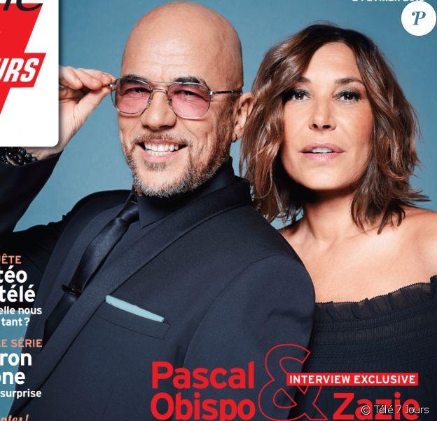 """Magazine """"Télé 7 Jours"""", en kiosques lundi 22 janvier 2018."""