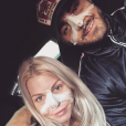 Jessica Thivenin et Thibault Kuro se sont fait refaire le nez, le 19 janvier 2018.