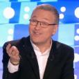 """""""On n'est pas couché"""" le 20 janvier 2018 sur France 2. Ici Laurent Ruquier."""