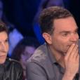 """""""On n'est pas couché"""" le 20 janvier 2018 sur France 2. Ici Yann Moix."""